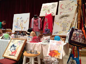Craft Fair at Camp Foster_norisART